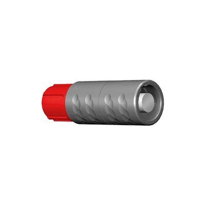 ODU MEDI-SNAP®  Inline Receptacle, Size 1, IP50 , 14-Pos., 0 ° Key